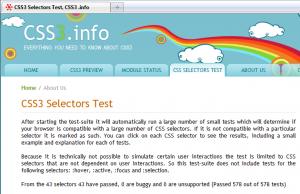 firefox 3.6.4 CSS3 test