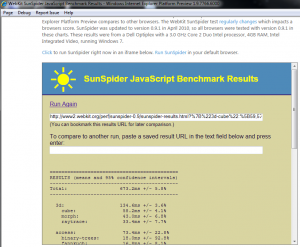 ie9 pp2 sunspider