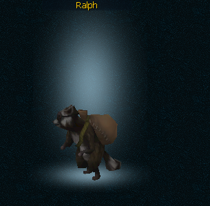 Ralph the thieving pet
