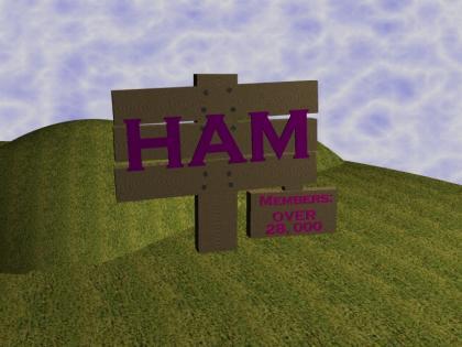Ham Sign 1