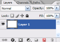 Create a new Layer button.