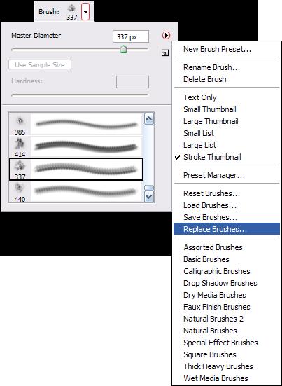 Load Brushes