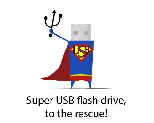 Super USB Flash Drive!
