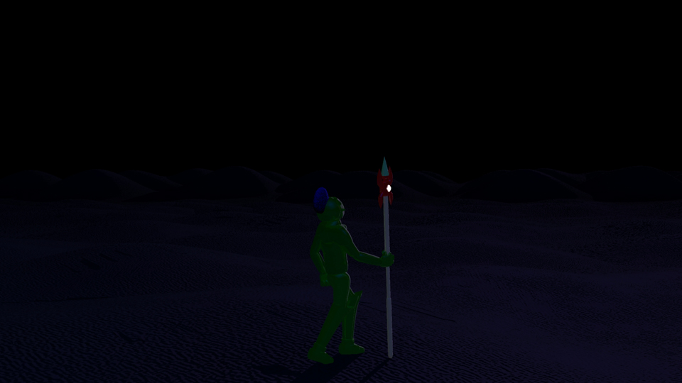 Even in darkness, the world holds exciting discovery.