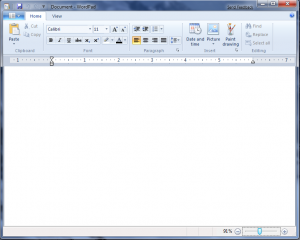 Wordpad with Ribbon