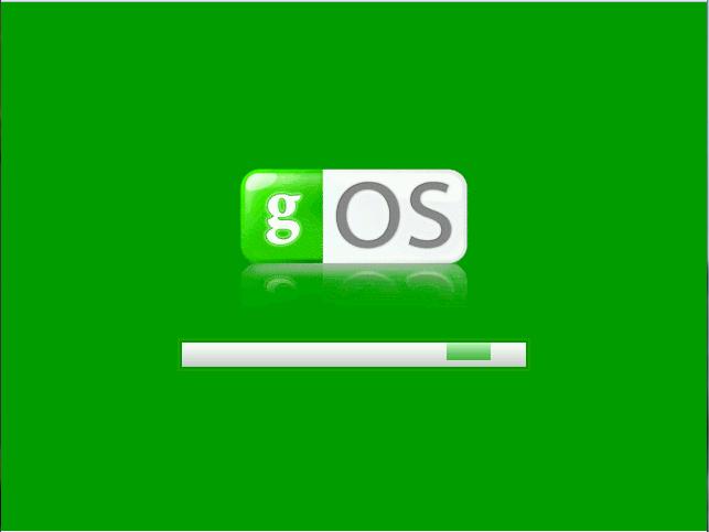 Loading gOS