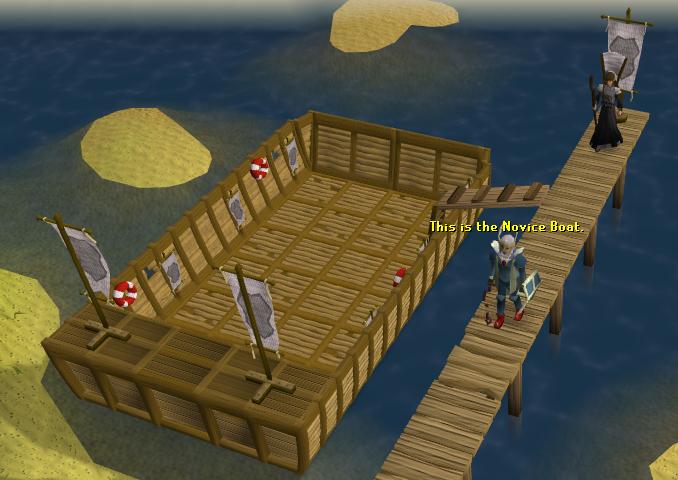 Pest Control Novice Boat