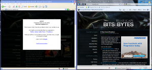 IE6 and IE8 running side by side in Windows 7 RC