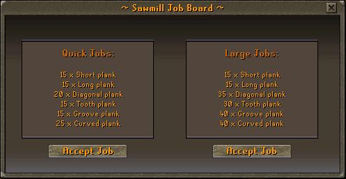 Woodcutting Rebalancing Jobs
