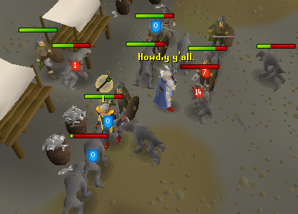 Seems a tad busy in the Fremennik market today.