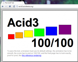 Chromium build 47601 acid3