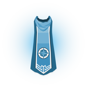 Quest Point Master Cape Mockup by Halfingr