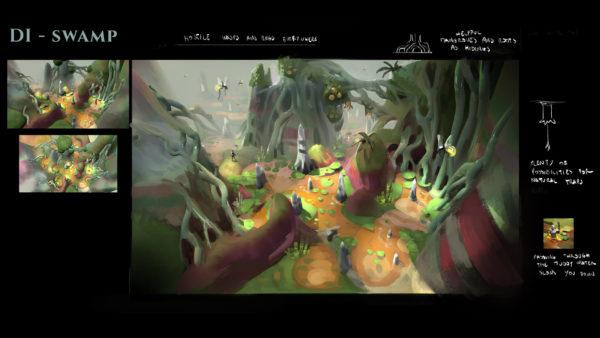Swamp Concept Art