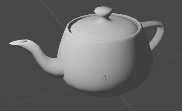 Diffuse shading of the Utah teapot
